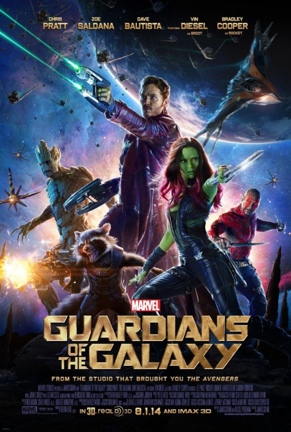 gGaurdians of the galaxy poster