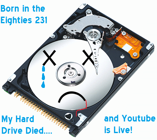 hard drive died youtube live